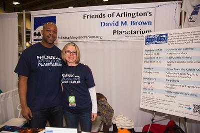 Maria Dittrich, Anwar Dunbar   Friends of the David M. Brown Planetarium (Arlington VA)