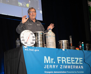 USA Science and Engineering Festival; Mr. Freeze, Jerry Zimmerman