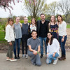 5D3_2096 Amy Badini, Claire and Carys Hacker, Rosanna Neri, Scooter Braun, Charlotte Hacker, Kathy Steiner, Matthew Gesell and Jenna Pastore