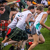Hill Race sets off<br /> Aboyne Highland Games 2009
