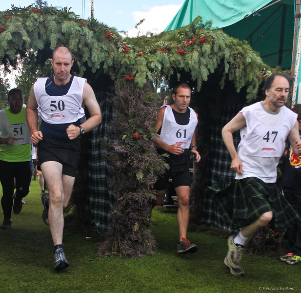 Hill Race  Aboyne Highland Games 2009