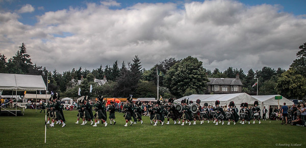 Pipe Band Entrance