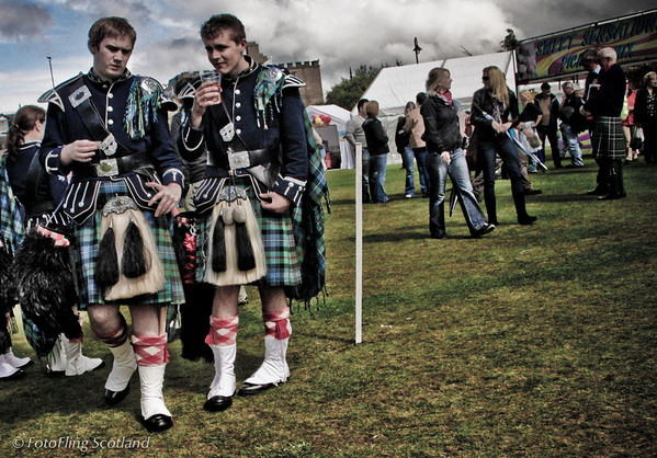 Men in Uniform Aboyne Highland Games 2009