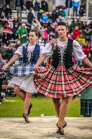 Highland Dances<br /> Aboyne Highland Games 2009