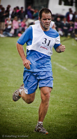 Runner Number 31 Aboyne Highland Games 2009