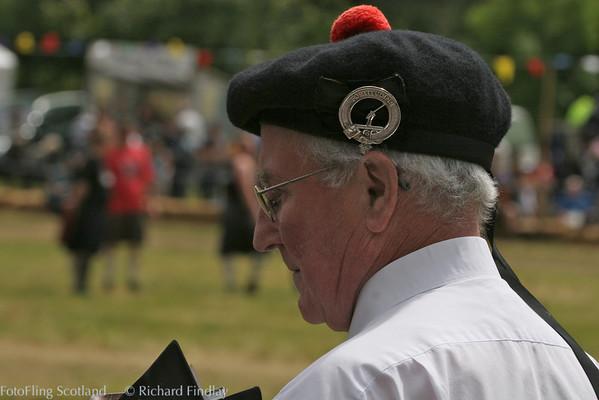 Robbie Shepherd Drumtochty Highland Games 2007