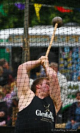Hammer Throw - sponsored by Glenfiddich