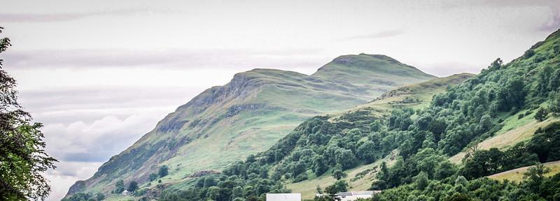 Ochil Hills from Alva