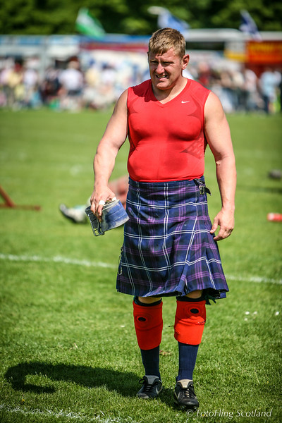 Neil Elliot - Scottish Heavyweight Athlete