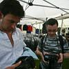 Testing the cameras