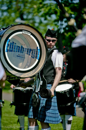 Edinburgh City Drummer