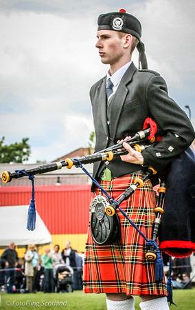 Piper  Bathgate Highland Games 2007