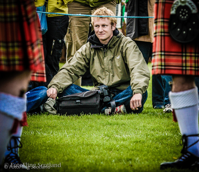 View from the Ground Bathgate Highland Games 2007