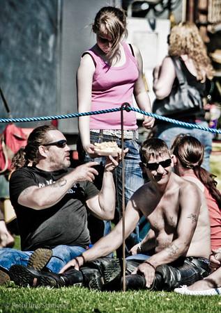 Tits & Chips  Bathgate & WestLothian Highland Games 2009