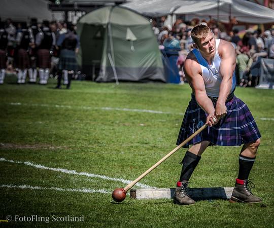 Hammer Throw Bathgate & WestLothian Highland Games 2009