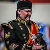 Drum Major in uniform<br /> Bathgate & WestLothian Highland Games 2009