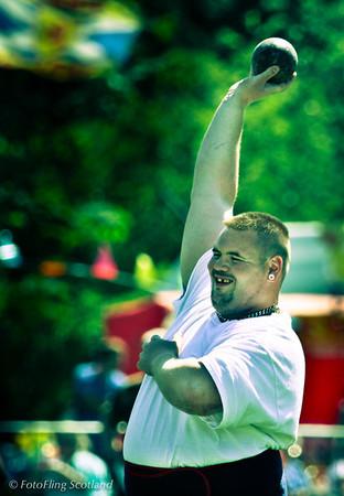 Stretch ! West Lothian Highland Games 2012