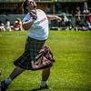 Craig Smith puts the shot<br /> West Lothian Highland Games 2012