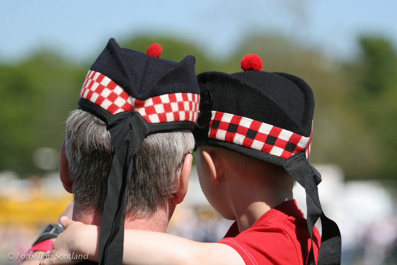 Scotsmen -young & old West Lothian Highland Games 2012