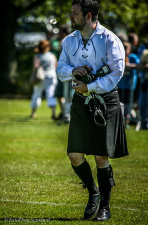 Kilted Shooter  West Lothian Highland Games 2012