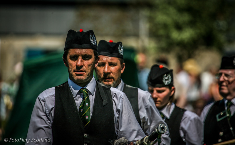 Pipeband West Lothian Highland Games 2012
