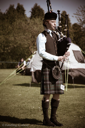 Solo Piping West Lothian Highland Games 2012