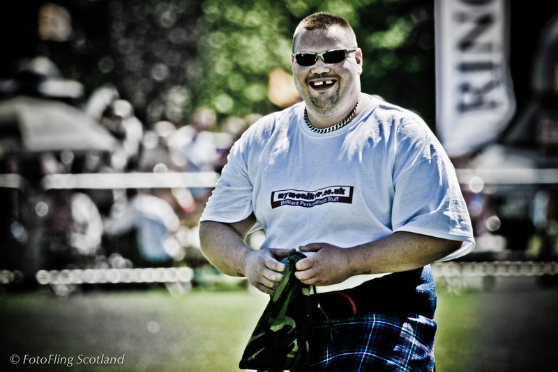 Mr Teeth West Lothian Highland Games 2012
