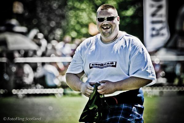 Mr Teeth West Lothian Highland Games 2012