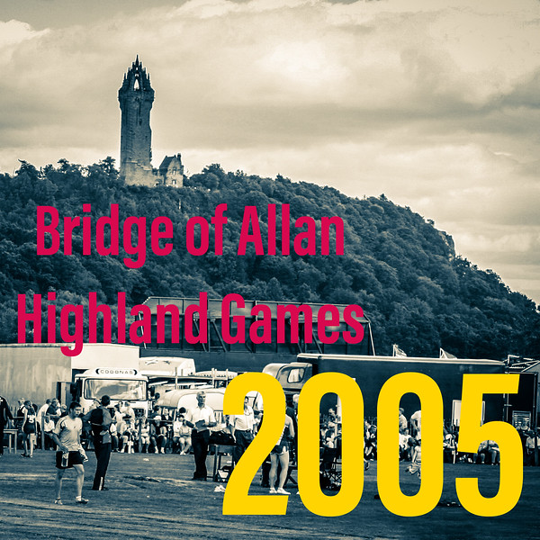 Wallace Monument and  Games Field, Bridge of Allan