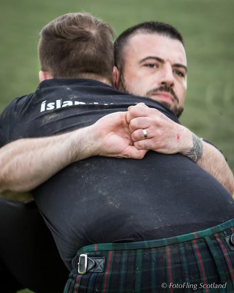 Scottish Backhold Wrestling with Breton Contestants