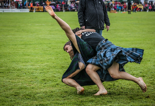 The 2017 Bridge of Allan Highland Games