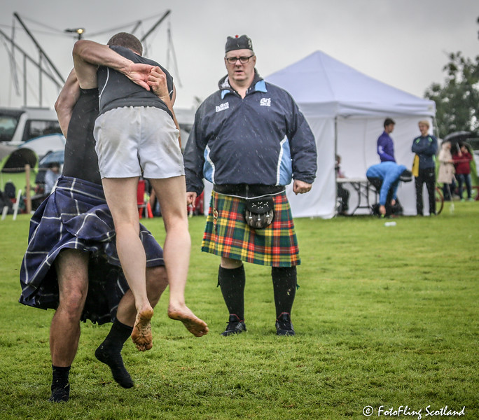 Scottish Backhiold Wrestling