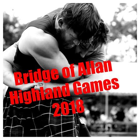 Album Title Card: The 2018 Bridge of Allan Highland Games