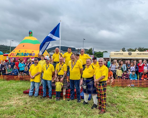 Callander Highland Games Officials