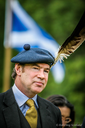 Plumeage: Donald Maclaren - Clan Chief