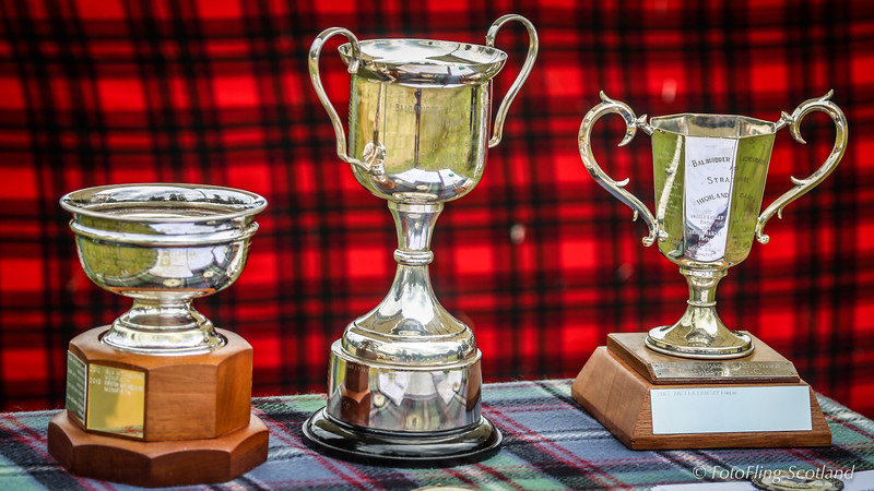 Highland Dancing Prize Cups