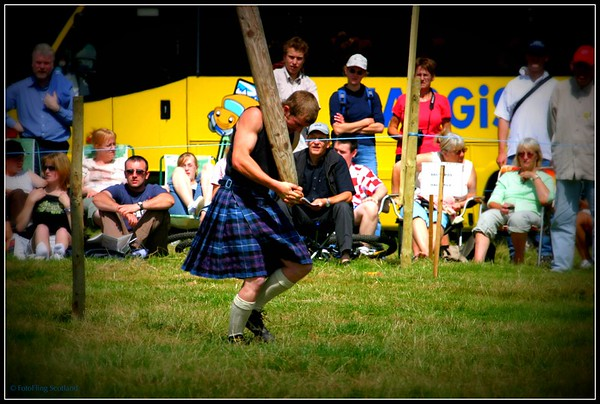 Young Caber Tosser