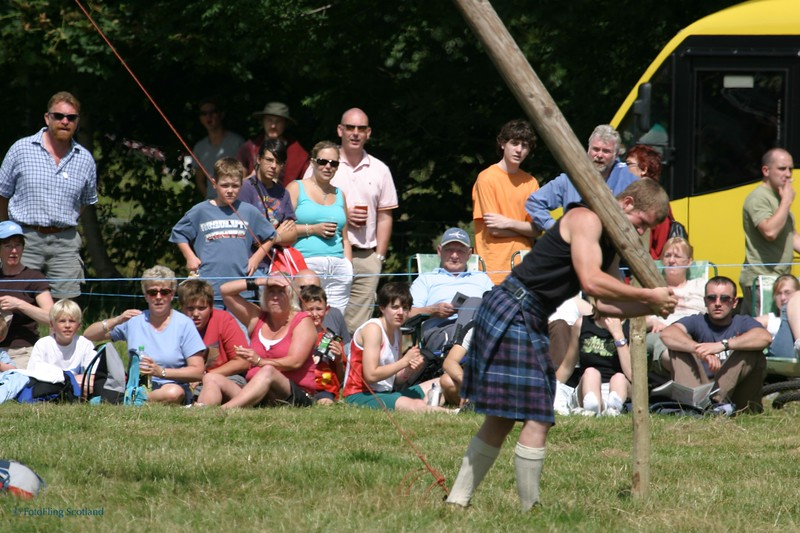 Caber Throw
