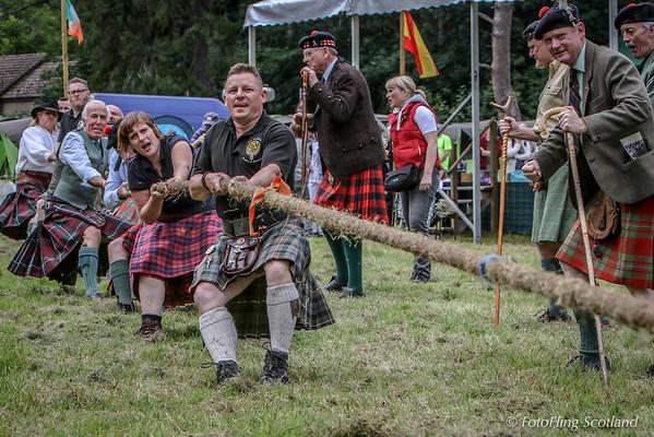 Clan Macgregor Tug O' War Team