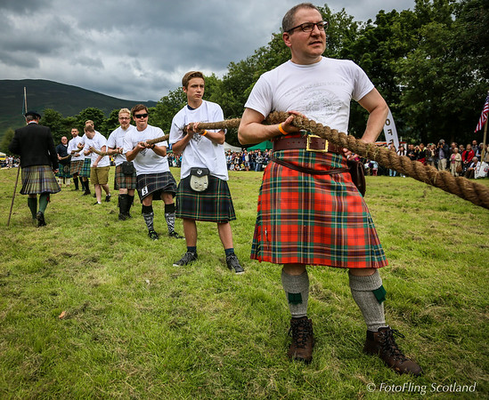 Tug O' War - Maclaren Clan Team