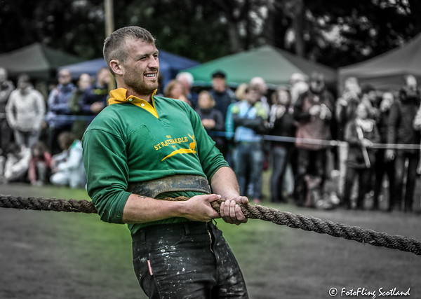 Strathardle Tug O' War Team Member