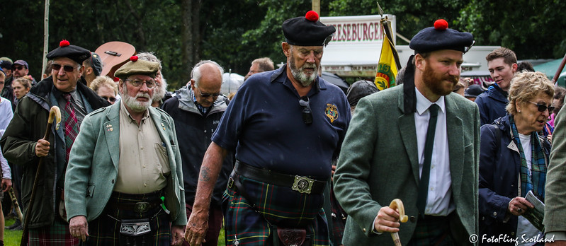 Highland Games Opening Parade