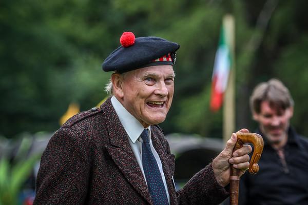 Clan Gregor Society President, Mr Alpin MacGregor