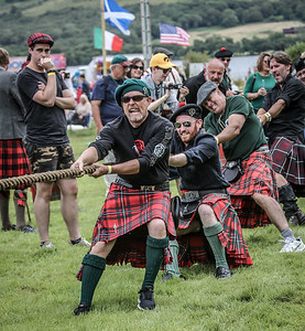 McGregor Clan Tug O' War
