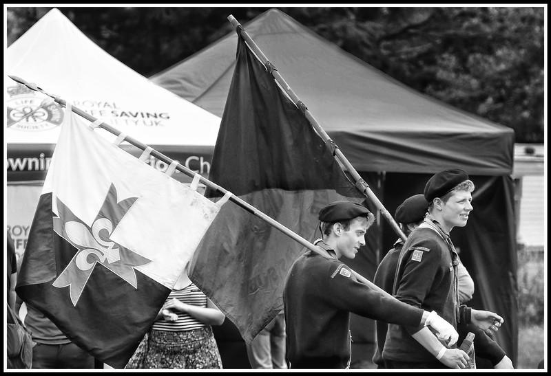 Scouts in Lochearnhead