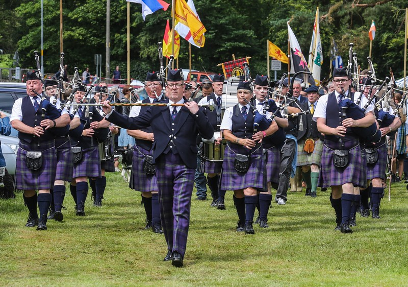 Badenoch and Strathspey Pipe Band