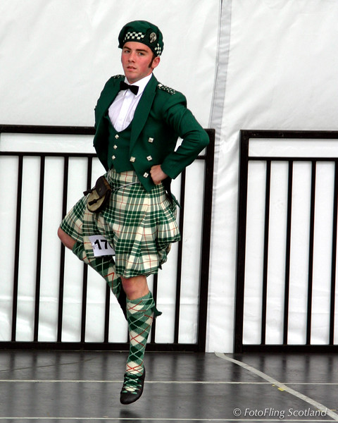 Tony Cargill: Highland Dancer