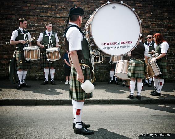 Glasgow Skye Pipeband