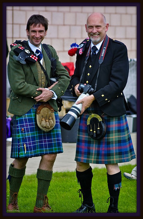 Two kilties and a zoom !
