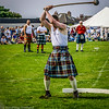 Swing that hammer boy !  North Berwick Highland Games 2003